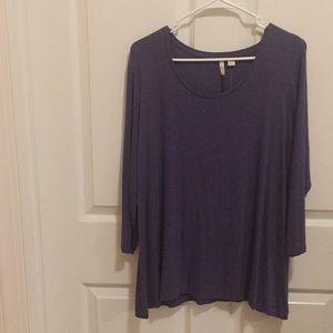 CATO Long sleeve purple shirt
